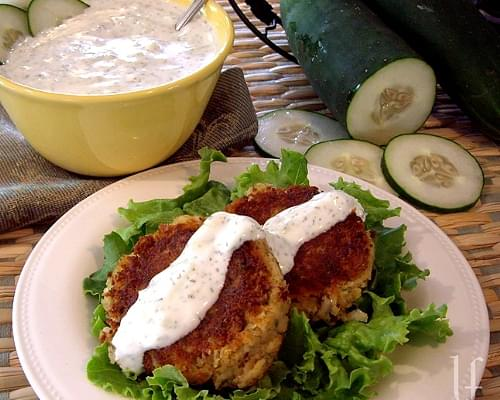 FALAFEL with TZATZIKI