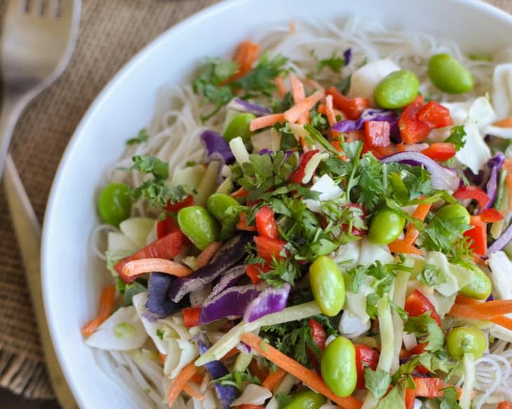 Asian Chicken Salad with Sesame Ginger Dressing Recipe
