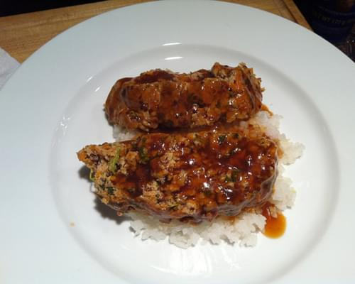 Spicy Asian Pork Meatloaf