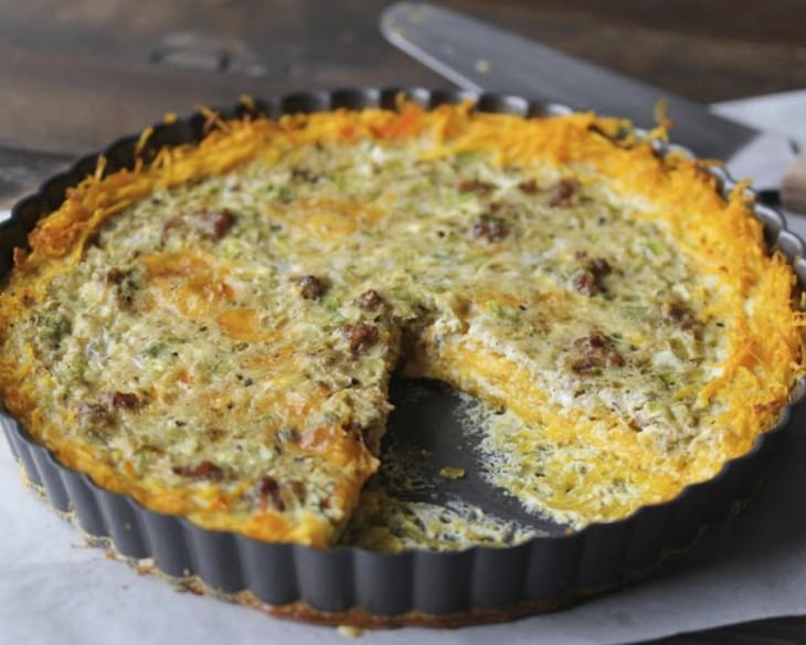 recipe: butternut squash crust quiche [26]