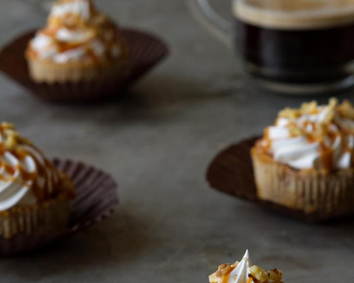 Mini Apple Pies with Salted Caramel Sauce