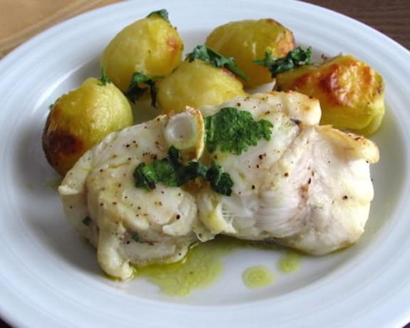 Monkfish In The Oven