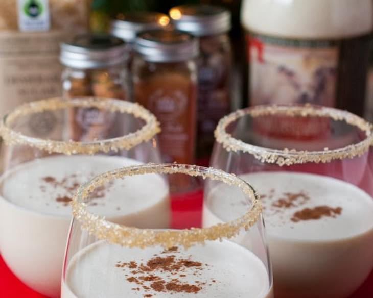 Spiced Eggnog Cocktail