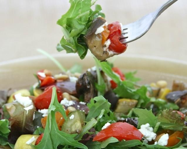 Roasted Vegetable Salad