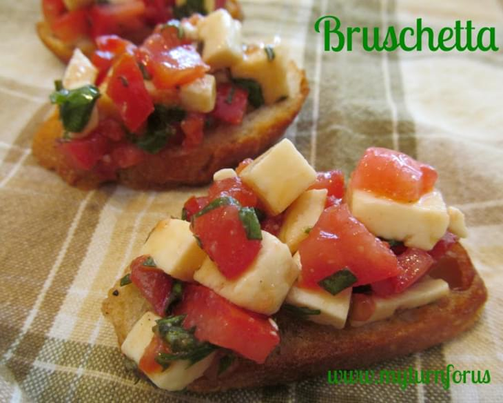 3 Cheese Bruschetta