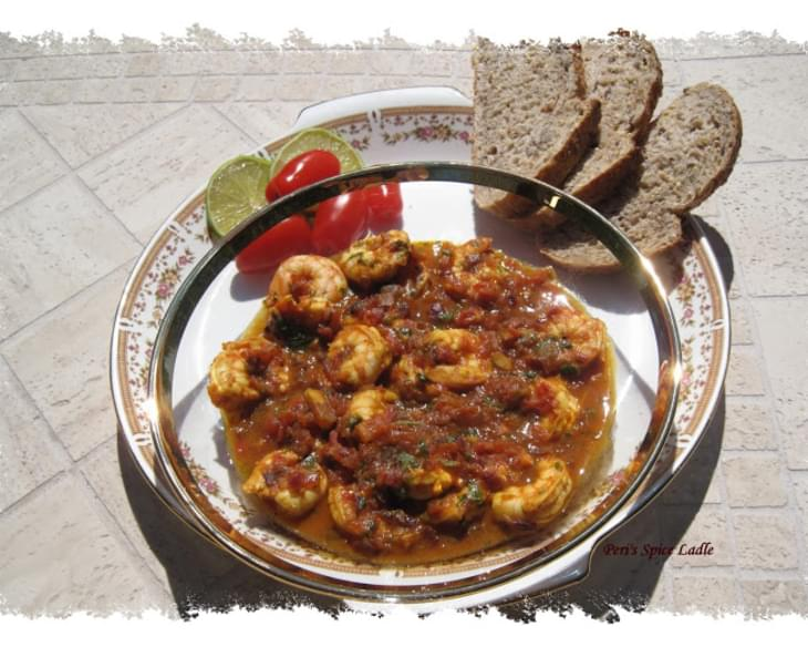 Shrimp 'Patia' – A Parsi Celebration on Your Plate
