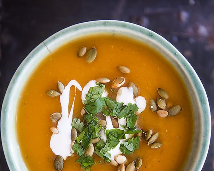 Chipotle Pumpkin Soup Recipe