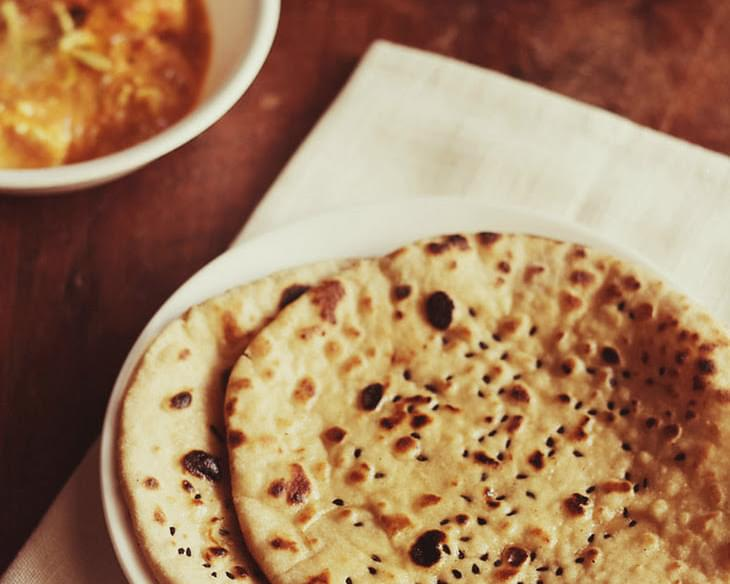 Butter Naan Recipe - Makes 12 To 14 Naans