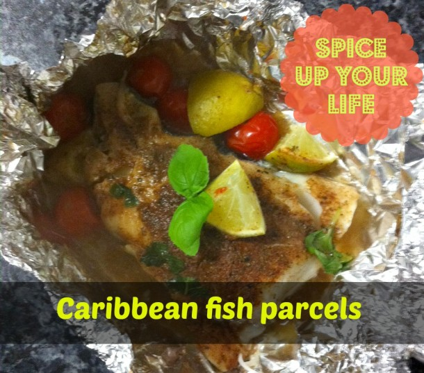 Caribbean fish parcels slow cooker recipe for Fish slow cooker recipes