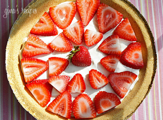 Low fat strawberry no bake cheesecake recipe for No fat baking recipes