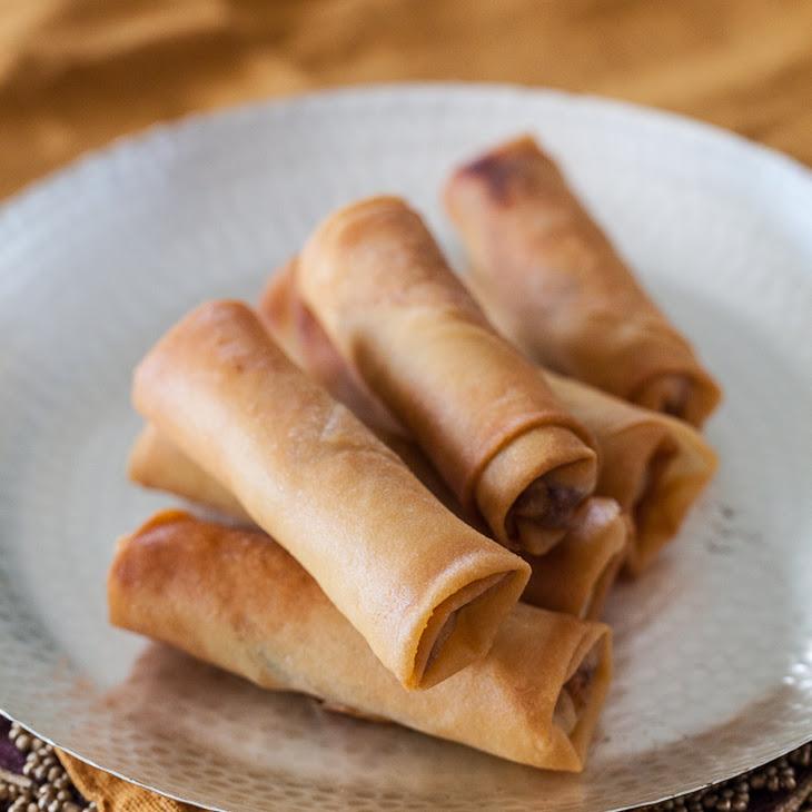 chinese chicken spring rolls recipe