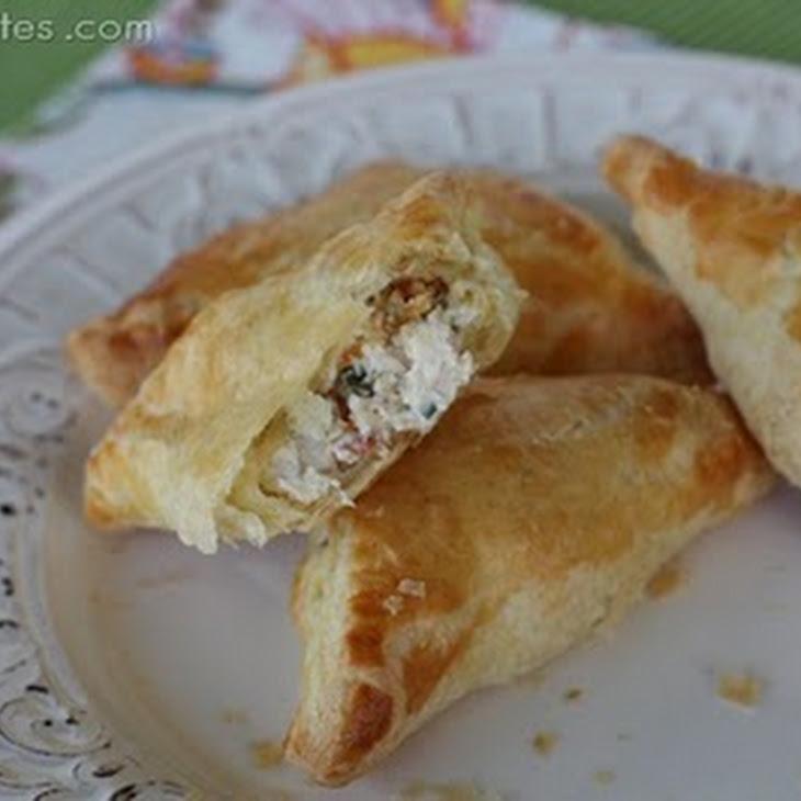 Creamy Chicken And Bacon Pastry Pockets Recipe