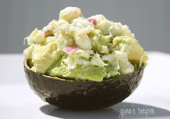 Крабовое мясо с авокадо рецепт