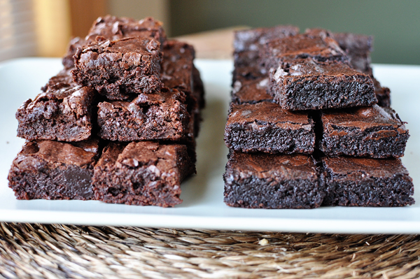 The Best Fudgy Brownies Think Homemade Brownies Like The