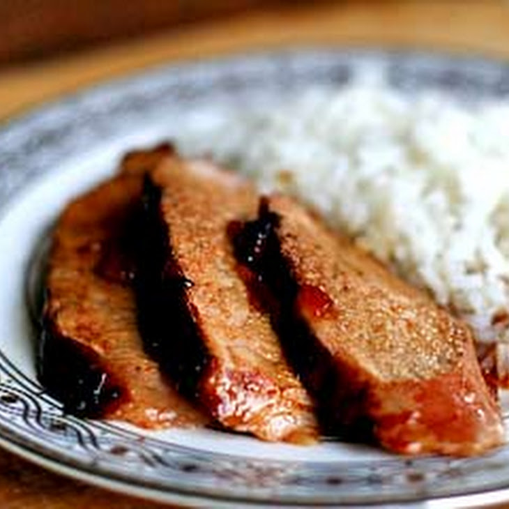 Grilled Pork Tenderloin with Orange Marmalade Glaze Recipe
