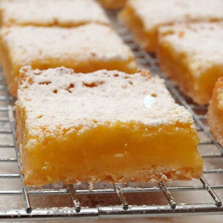 Luscious Lemon Squares Recipe