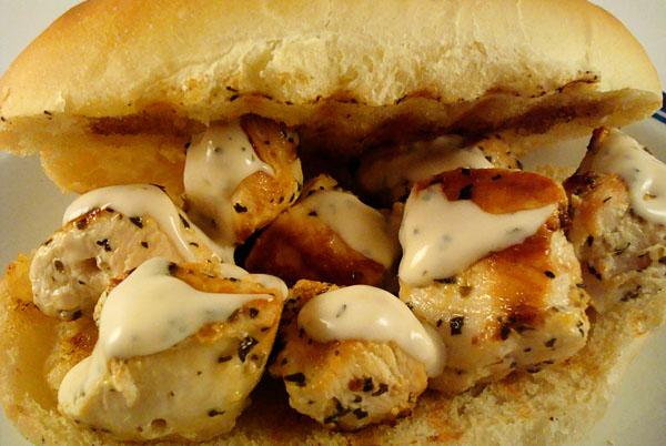 Chicken Spiedie Sandwiches Recipe