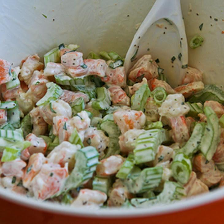 Shrimp Salad Cabbage Cups Recipes — Dishmaps