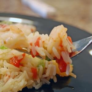 Camarones Con Arroz – Shrimp with Rice