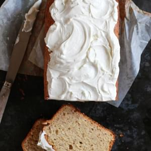 Banana Bread With Greek Yogurt Frosting
