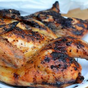 Cilantro, Ginger and Lime Flattened Chicken [Recipe]