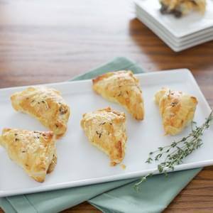 Mushroom and Gruyère Appetizer Puffs