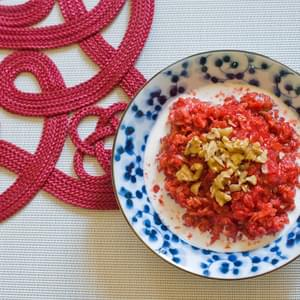 Ease into your day with Can't Be Beet Oatmeal