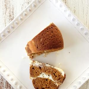 Skinny Pumpkin Spice & Cream Cheese Bread