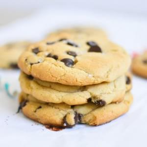 Sea Salt and Caramel Chocolate Chip Cookies