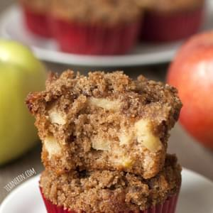 Cinnamon Apple Muffins (100% whole grain)