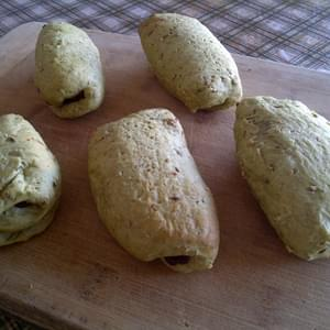 Matcha Pain Au Chocolat/chocopan (vegan Friendly)