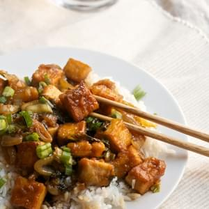 Sweet-and-Sour Tofu with Bok Choy
