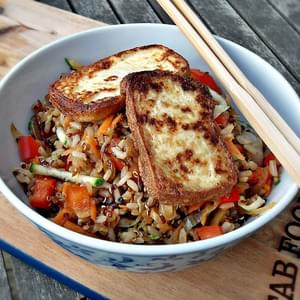 Pan-fried Chickpea Salad Recipe