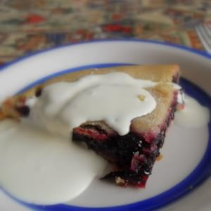 *Black Currant Plate Pie*