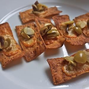 Manchego with Anchovies, Almonds, and Olives