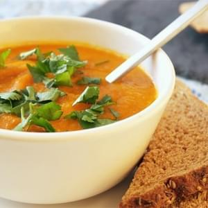 Harissa Spiced Carrot Soup