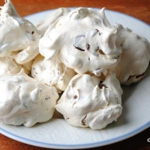 Chocolate Chip and Pecan Meringues