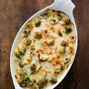 Au Gratin Brussels Sprouts Recipe