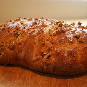 Honey and Walnut Bread