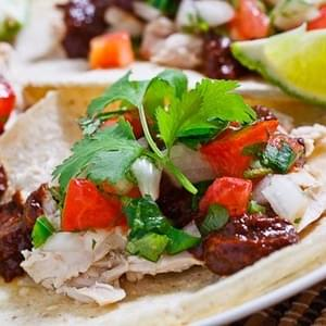 Chicken Mole Tacos