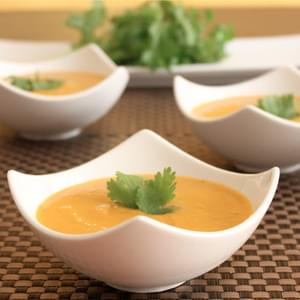 Carrot Soup, perfect for fall