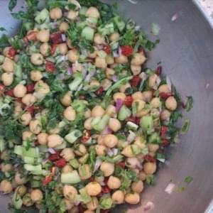 Chickpea and Sun-Dried Tomato Salad