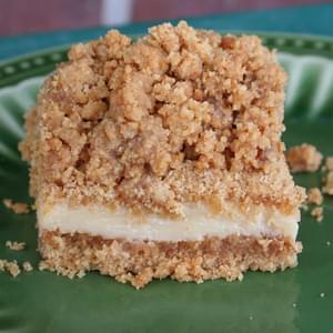 Key Lime Crumble Bars
