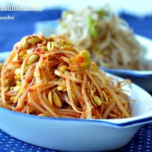 Korean Boiled Bean Sprouts Salads