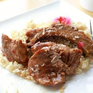 Slow Roasted Pork Adobo