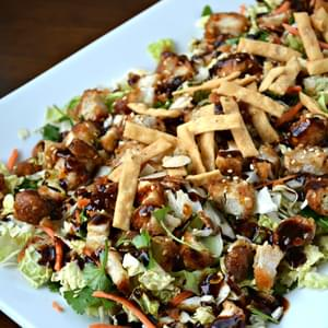 General Tso's Wings Asian Chicken Salad