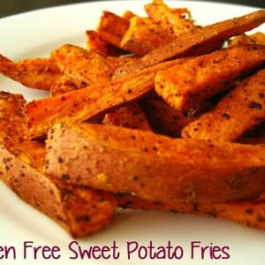 Gluten Free sweet potato fries