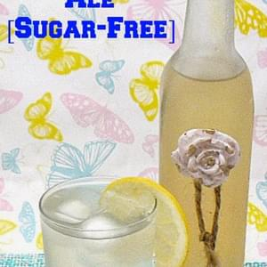 Ginger Ale {Sugar-Free}