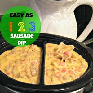 Easy as 123 Sausage Dip