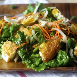 Fried Egg Salad